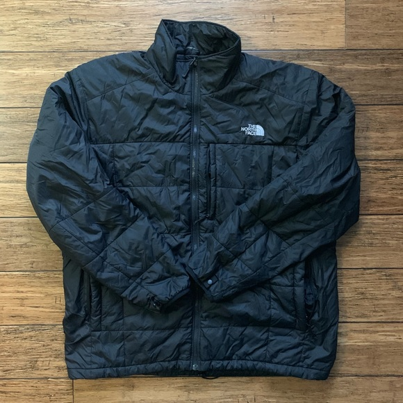 The North Face Other - Black Multi Pocket Thin Light Weight Puffer Coat